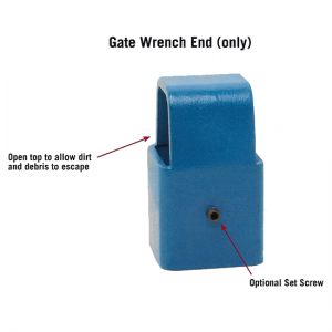 Gate Wrench End only