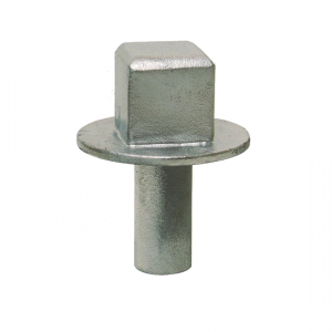 top nut with pipe shaft